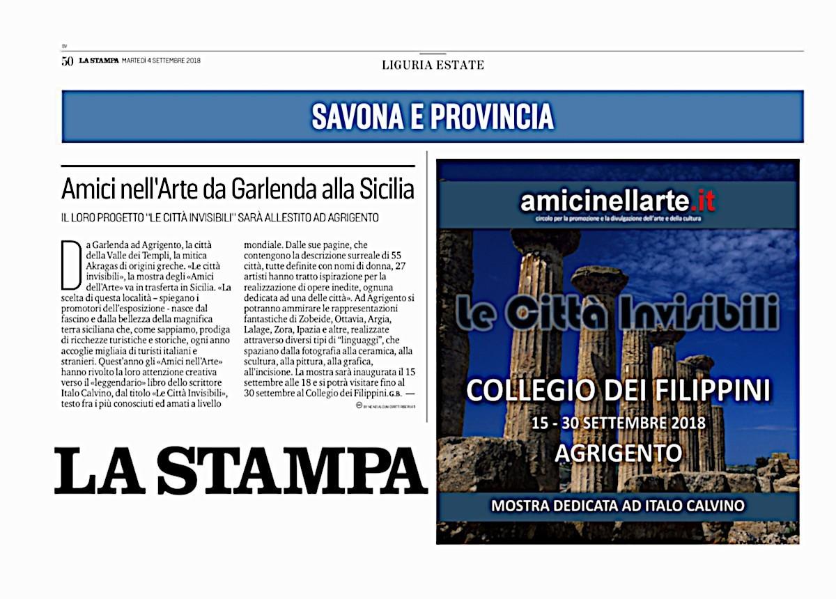La Stampa SV4 settembre 2018