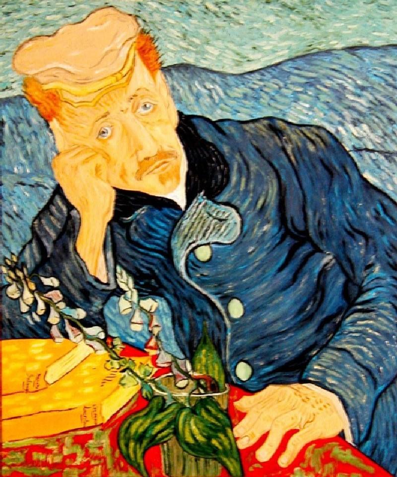 """""""Il Dottor Gachet""""Vincent Van Gogh"""
