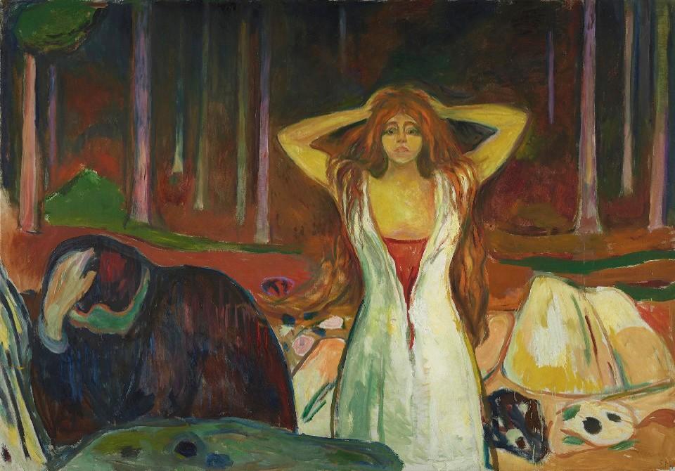 """Ashes"" Edward Munch"