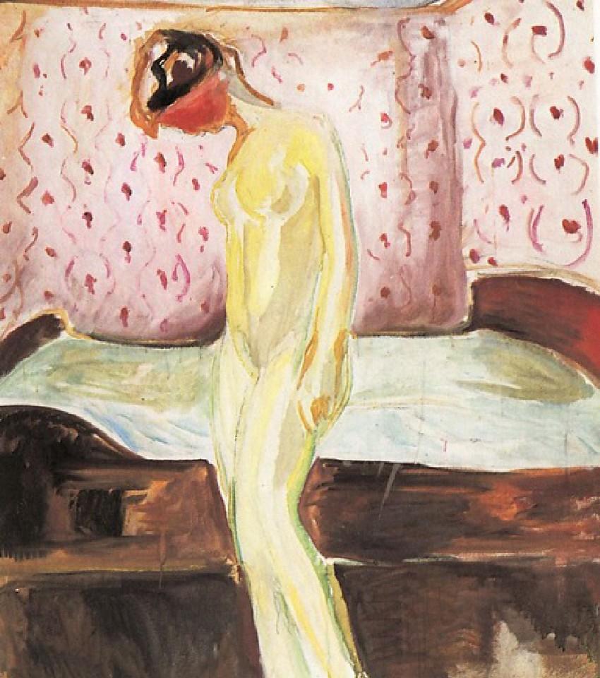 """""""Ragazza in lacrime""""Edward Munch"""