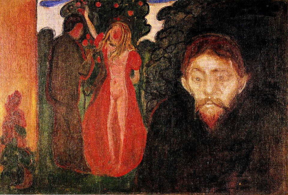 """""""Jealousy""""Edward Munch"""