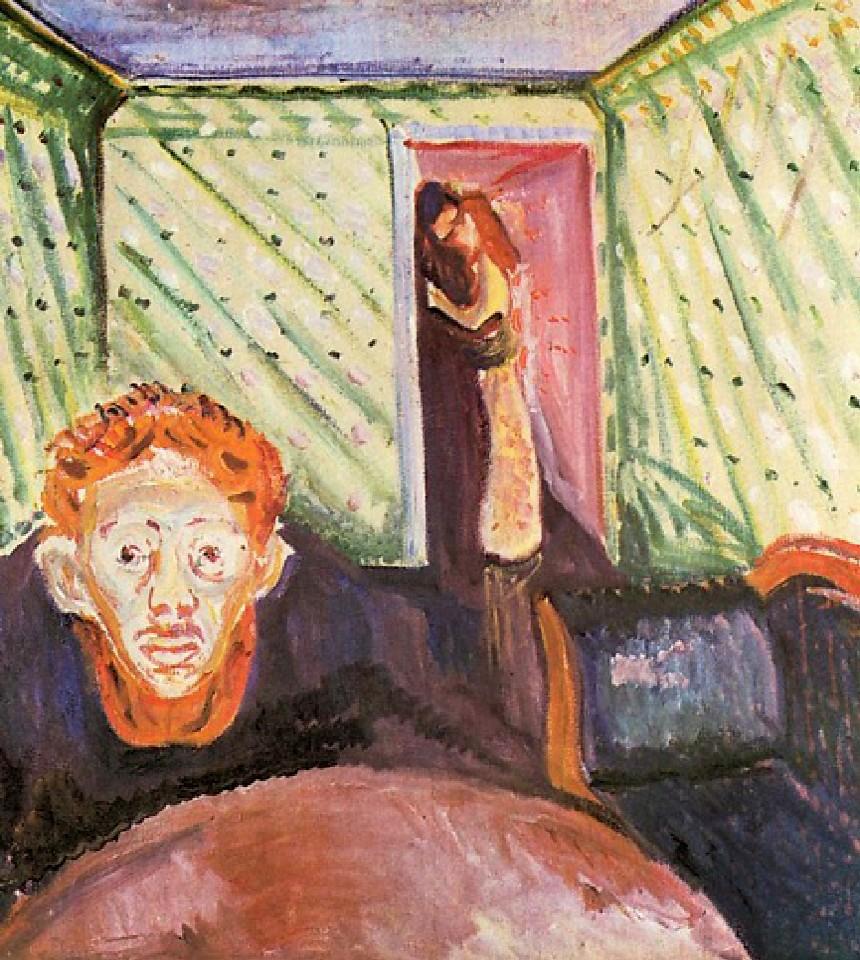 """""""La gelosia""""Edward Munch"""