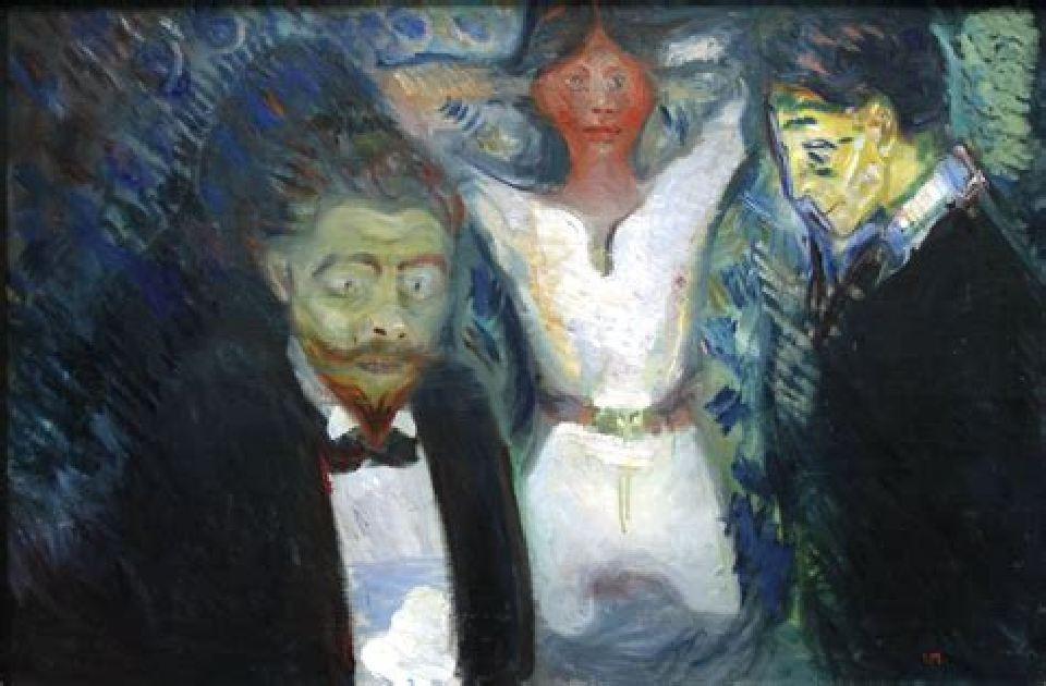 """""""Jalousie""""Edward Munch"""