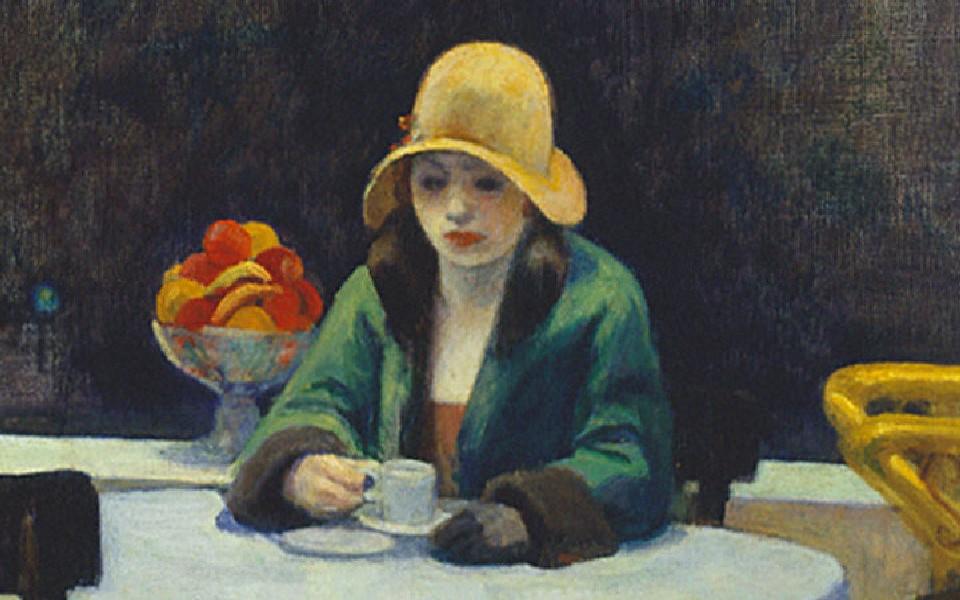 """""""Automat"""" Edward Hopper"""