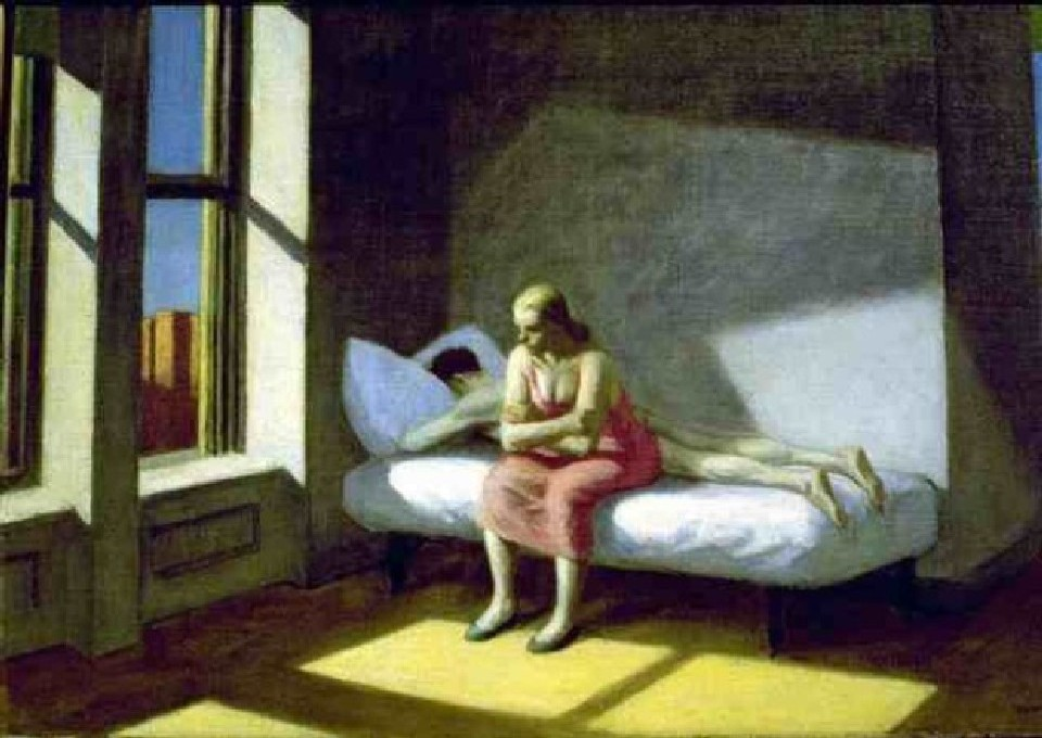 """Summer in the city"" Edward Hopper"