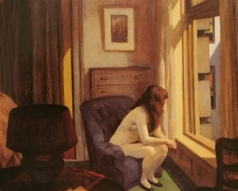 """Le undici di mattina""Edward Hopper"