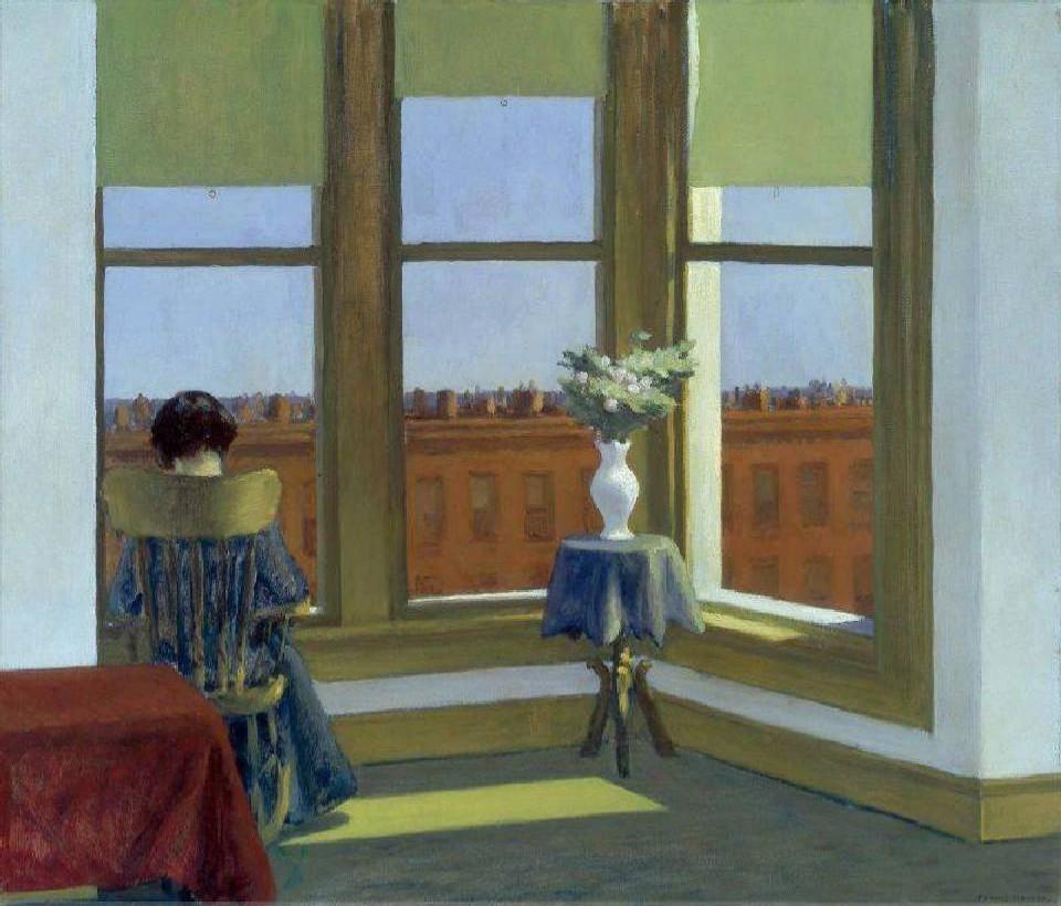 """""""Room in Brooklyn""""Edward Hopper"""
