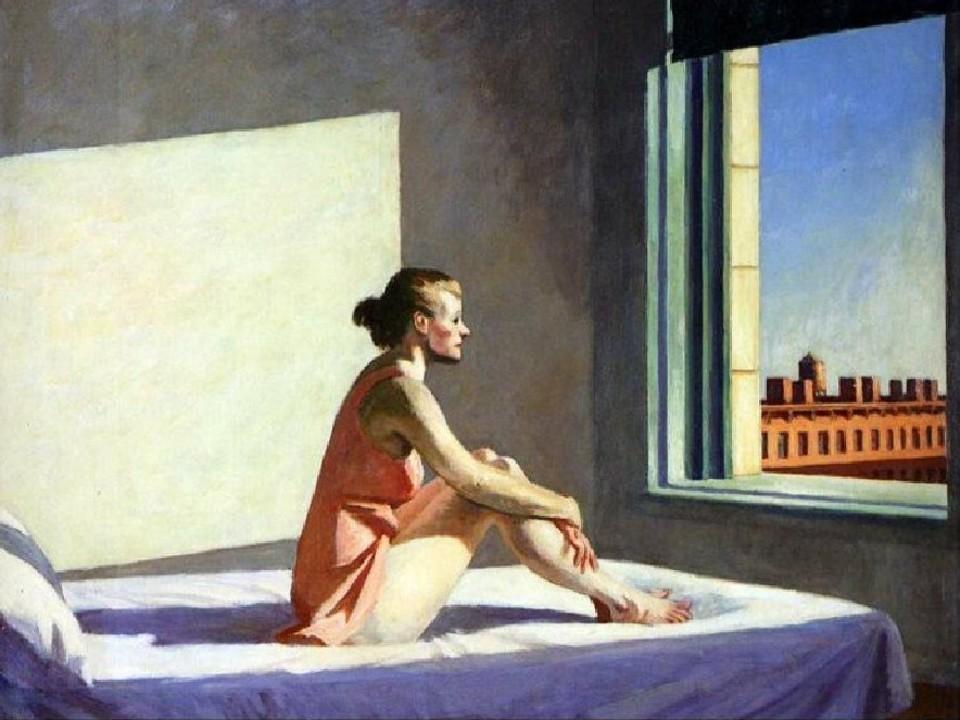 """""""Morning sun""""Edward Hopper"""